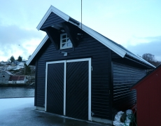 Boathouse in Bøvagen